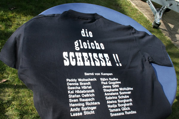 Beschriftung Von Abschlussklassen T Shirts / Abi Shirts / Abschluss Shirts