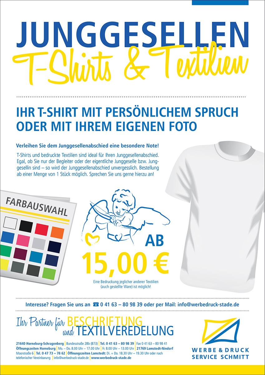 buy online 92ba2 7bd34 Schmitt Werbedruck in Stade | Tshirts Hemden Pullover ...